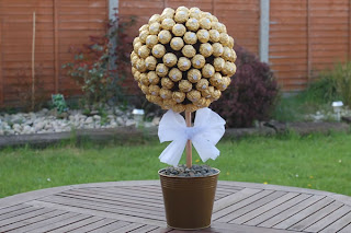 ferrero rocher topiary tree