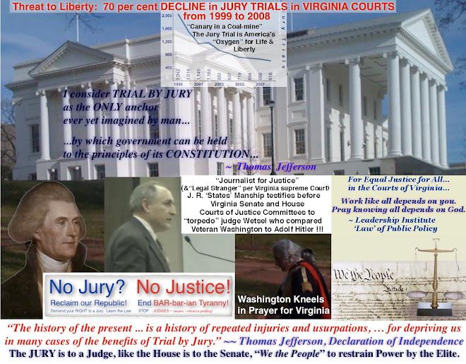 No Jury?  No Justice!
