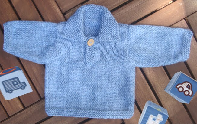 Stitch Baby Sweater Pattern Bronze Cardigan