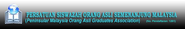 Persatuan Siswazah Orang Asli Semenanjung Malaysia