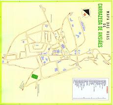 Mapa das Ruas
