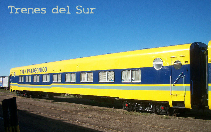 De Buenos Aires a Bariloche, en tren
