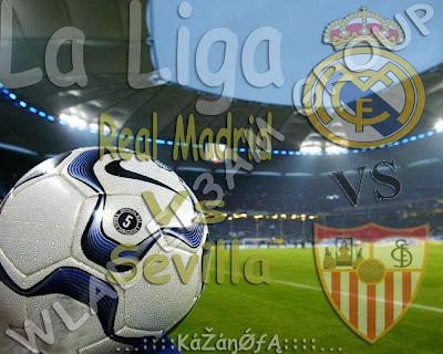 مشاهدة مباراة ريال مدريد واشبيلية بث مباشر