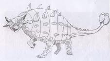 Mis dibujos - Ankilosaurio