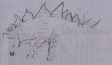 Mis dibujos - Estegosaurio