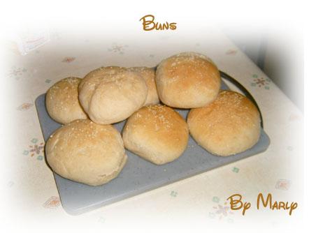 recettes plats  Buns maison