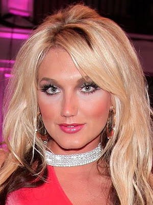 Brooke Hogan See Through Dress