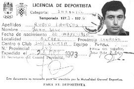 PRIMERA LICENCIA 1973 - 74