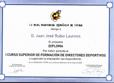 TITULO DE DIRECTOR DEPORTIVO