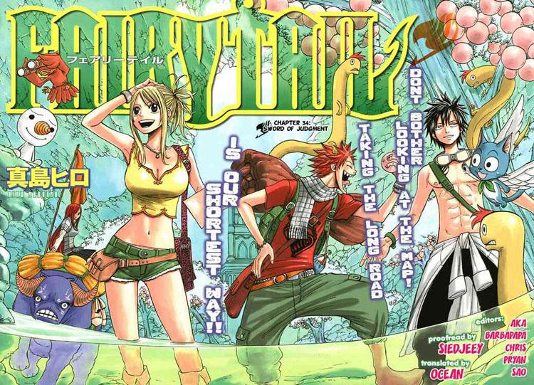 TruyenHay.Com - Ảnh 2 - Fairy Tail Chap 34