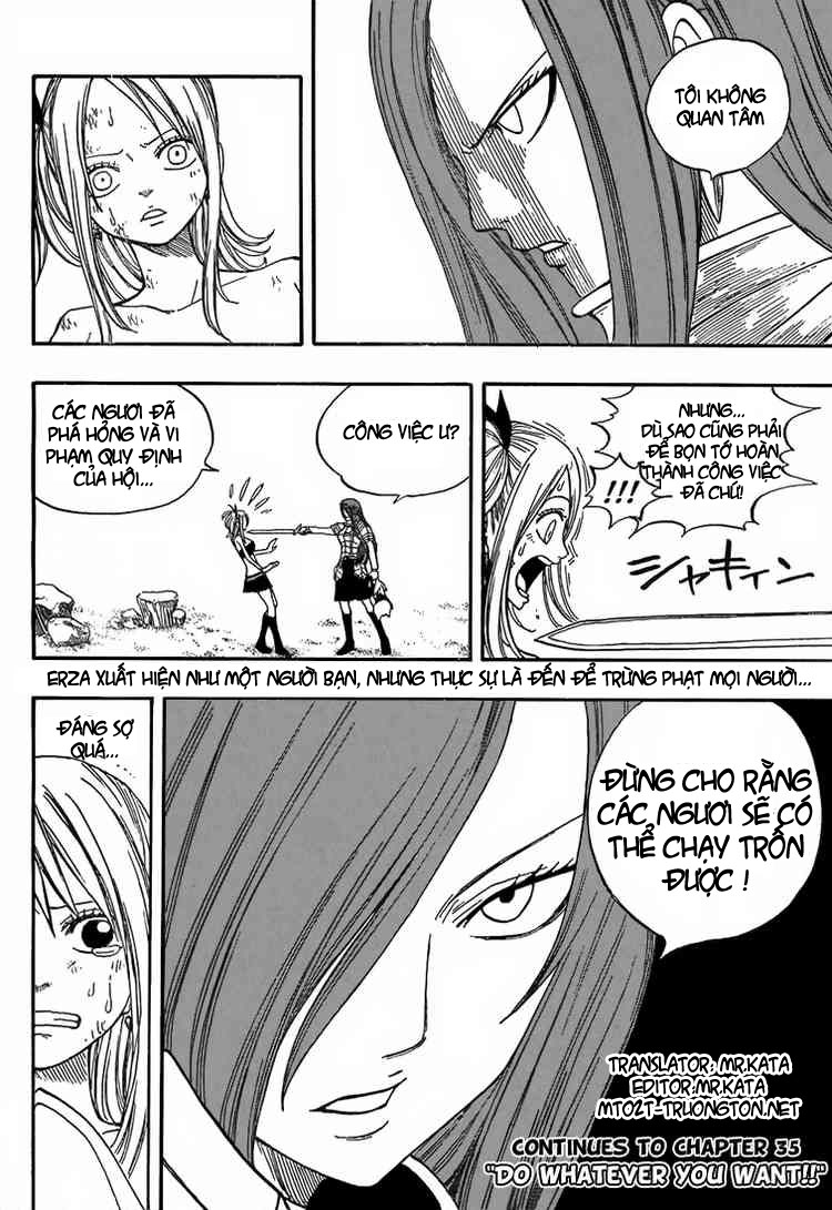 TruyenHay.Com - Ảnh 21 - Fairy Tail Chap 34