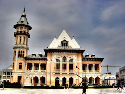 City Hall of Buzau