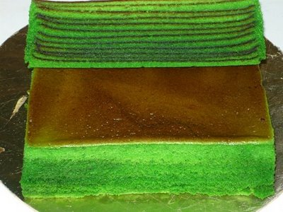 Buat Kek Batik & kek Evergreen Untuk Raya Haji Aidiladha, kek mudah dan simple tahun 2015, baking kek, kek kukus sedap