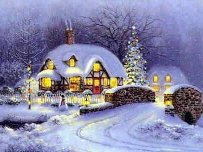Christmas,Christmas Snow