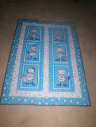 funny baby quilt