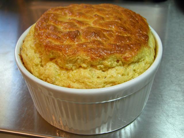Food Recipe Classic Cheese Souffle Julia Child