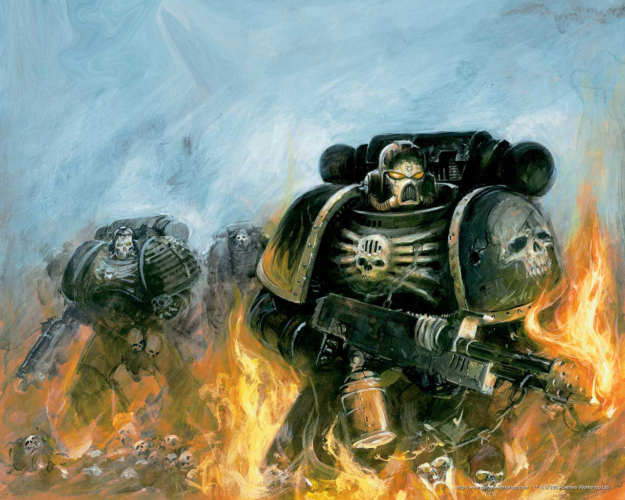 Warhammer 40,000 Space Marine wallpapers or desktop