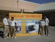 Los Alumnos de la Escuela Agraria de los Corralitos obtuvieron el primer premio por el mejor estánd