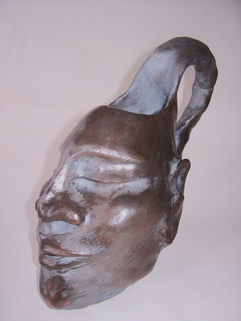Black Sculptural Stein, 2009