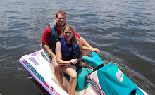Jer and Cyn on Jetski