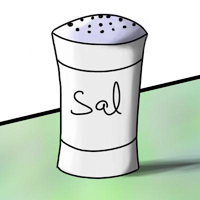 Dibujo de un Salero