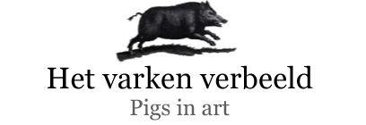 Het varken verbeeld