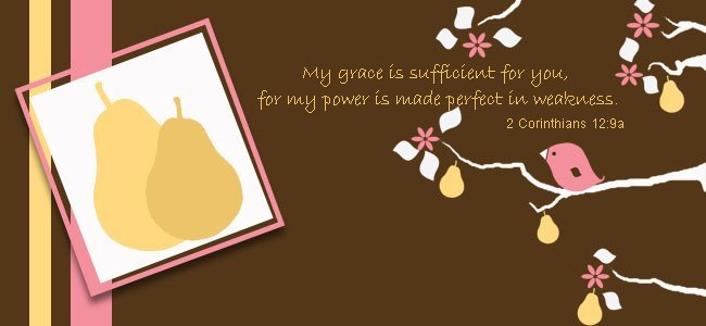 His grace is sufficient for me