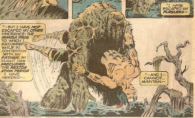 Man-Thing has drank your milkshake!