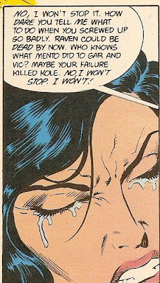 Nightwing...making girls cry since 1986