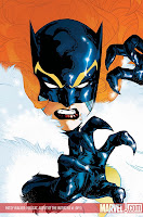 So what's her name? PATSY WALKER. What's her hero identity? HELLCAT. What's her job? AGENT OF THE INITIATIVE. Well, I guess that covers everything, eh?