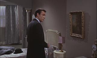 WATCH as 007 searches an empty room!! da da dun dun, da da da