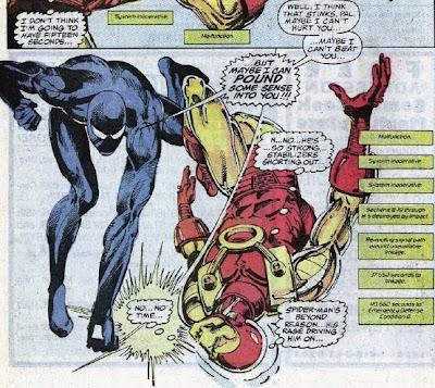 spiderman vs iron man whowouldwin