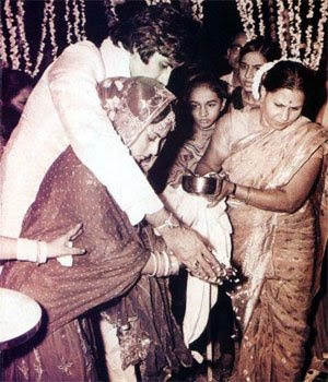 amitabh jaya wedding 001 Amitab Bachan Pics since childhood