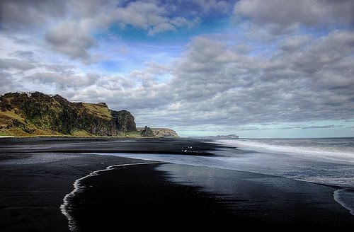 Amazing black sand beaches world 39 s strange places for How many black sand beaches in the world