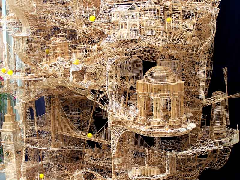 Gadapa Subhash 39 S Web Log Awesome Toothpick Sculpture
