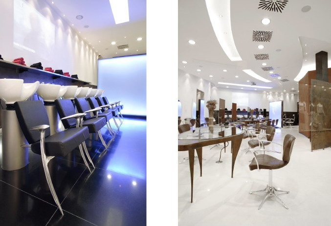 Stunning Salon Moderne Coiffeur Contemporary - Home Decorating ...