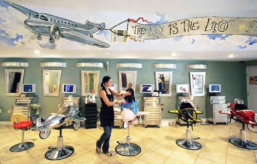 Le blog du salon de coiffure salon pour enfants for Salon de coiffure pour enfant