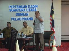 Representing Penang State Goverment in Medan
