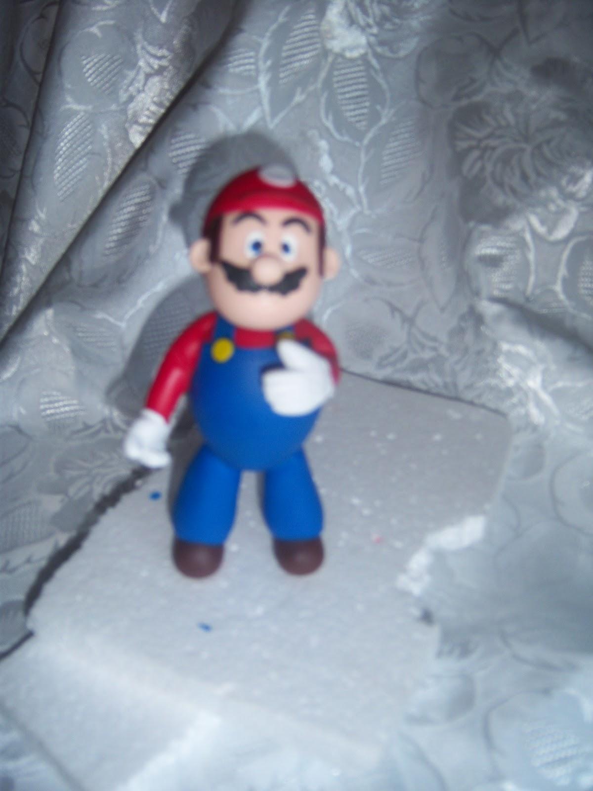 Mario Bros en Masa Flexible