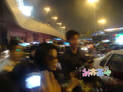 Crystal Liu at Hongqiao Airport Shanghai