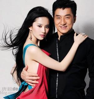Crystal Liu Jackie Chan