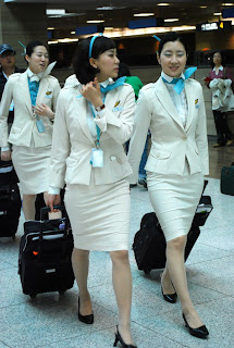 Korean Air Flight Stewardess