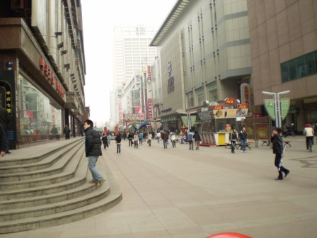 taiyuan street shopping