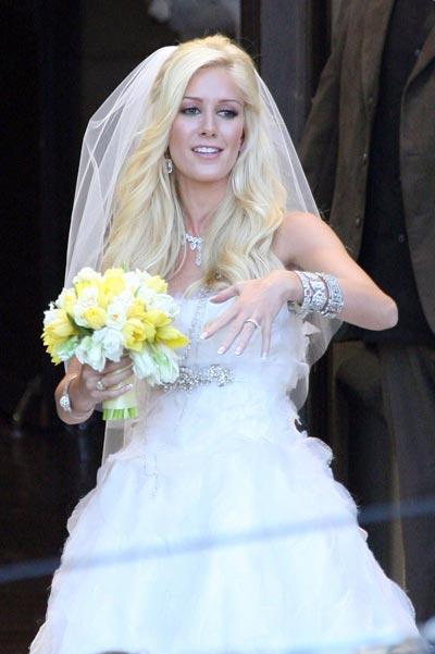 Gallery For Heidi Montag Wedding Dress