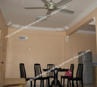 Cameron Highlands Apartment Interior