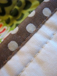 Machine Stitched Binding Tutorial by Red Pepper Quilts