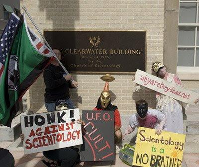 Gruppenfoto von Anonymous Clearwater