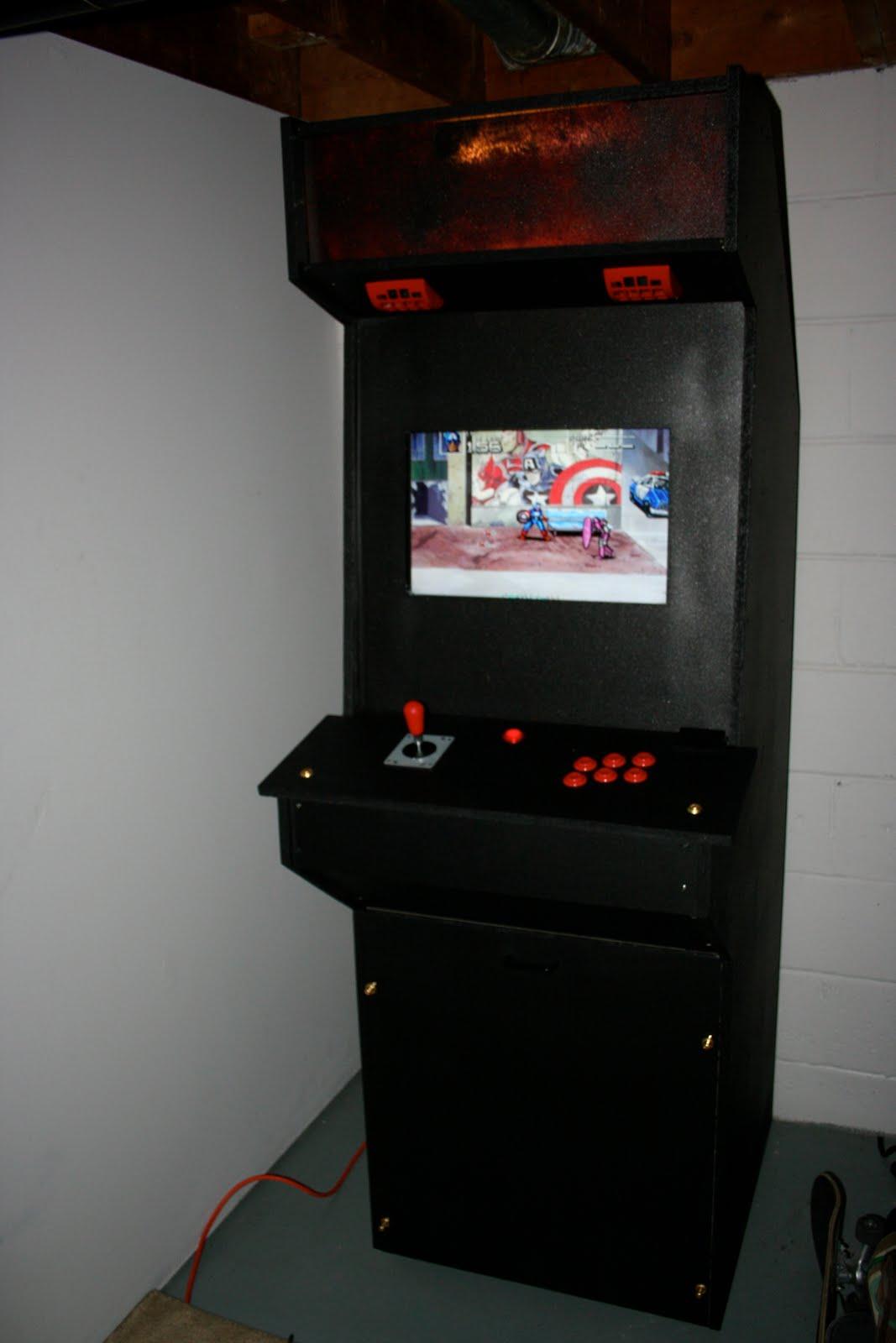 peralta computer services xbox station arcade cabinet