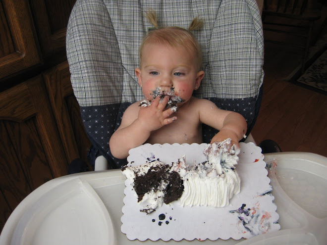 Gettin into the cake