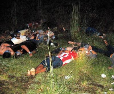 olivo por hombres armados que se hicieron pasar por federales